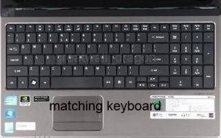 Keyboard Cover Skin Protector Acer Aspire 7540G 7542G 7551G 7552G