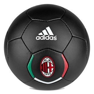 Adidas AC Milan 2012 2013 Authentic Edition Soccer Ball Black Size 5