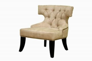 Chair Modern Office Furniture Beige Accent Chair Living Room Chair