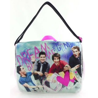 School Big Time Rush Messenger Bag Backpack James Carlos Logan Kendall