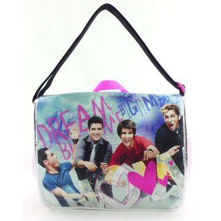 School Big Time Rush Messenger Bag Backpack James Carlos Logan Kendall
