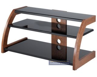 Faux Wood Finish TV Stand & Equipment Rack High Quality **GUARANTEED