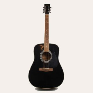 Harmony Acoustic/Electric 01008 Guitar Good Playing Condition