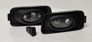 Acura TSX 03 06 & Euro Honda Accord JDM Fog Light Kit   Smoke