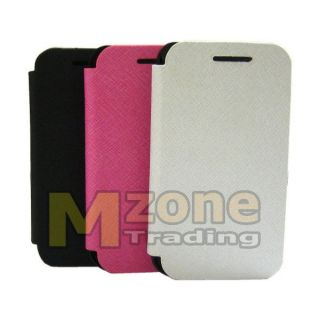 Battery Cover Flip Leather Case for Samsung Galaxy Ace S5830