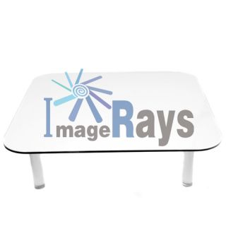 Acrylic Black and White Magnetic Display Table for Photograph Studio