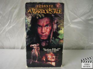 Squanto A Warriors Tale VHS Adam Beach Disney Video 765362552030