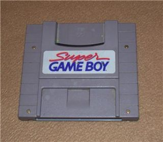 Nintendo Super Game Boy Cartridge Adapter Polished Contact Points