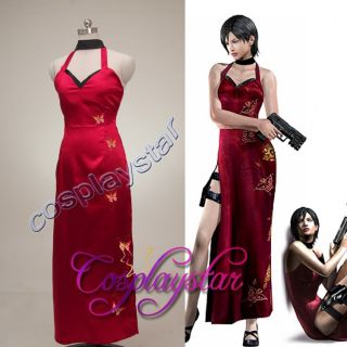 Resident Evil costume Ada Wong Cosplay Costume Game /film costume