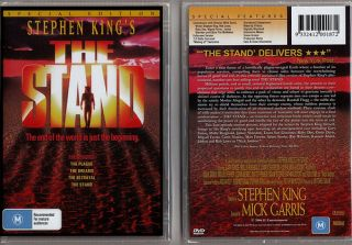 New The Stand Stephen King Movie 2 DVD Set RARE Video