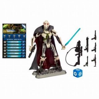 Star Wars action figure. Includes Battle Game Card Die & Base