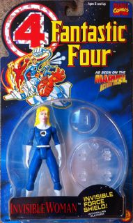 Fantastic Four Invisible Woman Action Figure Series 2