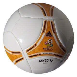Adidas Euro 2012 Glider Ball White Bright Gold Black W45026