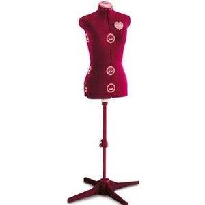 singer df 151 red adjustable dress form mannequin