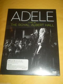 Adele Live at the Royal Albert Hall DVD 2011 2 Disc Set DVD CD