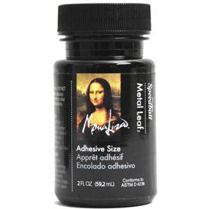 Mona Lisa Metal Leaf Adhesives Gold Leaf 2oz Glue SPE 0010210