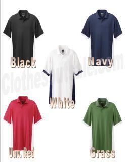 store adidas golf men s climacool pique colorblock polo