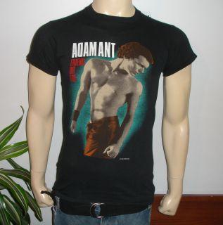 RaRe 1983 ADAM ANT vintage rock concert tour t shirt M 80s new wave