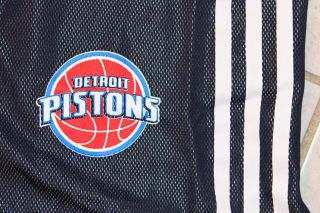 adidas NBA Detroit Pistons Single Layer Performance Jersey Basketball