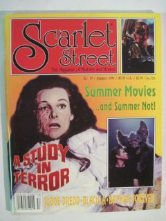 Scarlet Street 19 Adrienne Corri A Study in Terror Val Kilmer Batman