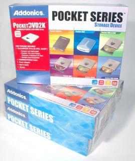 New Addonics USB External DVD ROM Drive CardBus PCMCIA