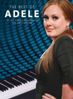 Adele The Best of Easy Piano Sheet Music Song Book Brand New 12 Hit