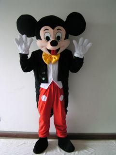 Brand New Mickey Mouse Mascot Costume Adult Size