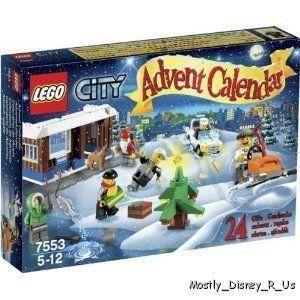 New Lego City Model 7553 2011 Advent Calendar 232 Pcs Ages 5 12 Police
