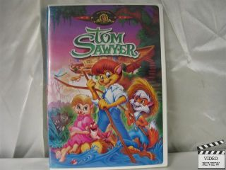 Tom Sawyer (DVD, 2000) Tom (the cat) and Huck (the fox) Animation Paul