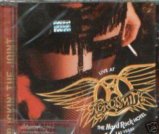 AEROSMITH, LIVE AT THE HARD ROCK HOTEL LAS VEGAS. FACTORY SEALED CD