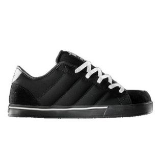 Adio Drayton Mens Skate Shoes Black White Size 8