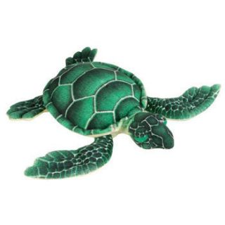 Adventure Planet Plush Sea Turtle 8 inch Stuffed Animal Toy