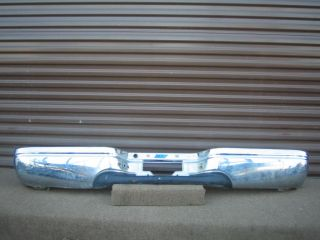 Ford F250 F350 Super Rear Chrome Bumper 03 04 05 06 F