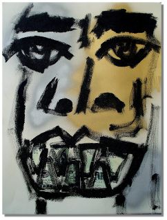 African American Art Expressionist Modern Blues Negro Outsider Folk
