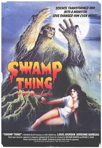 swamp thing 11 x 17 movie poster adrienne barbeau
