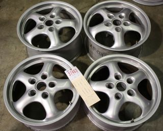 911 993 Cup II style aftermarket Wheels rims Set 17 (7.5x17) & (9x17