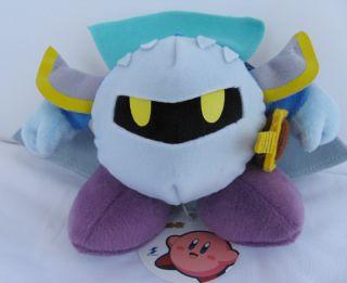 Nintendo Kirby Adventure Plush Doll Meta Knight Kirby Licenced Product