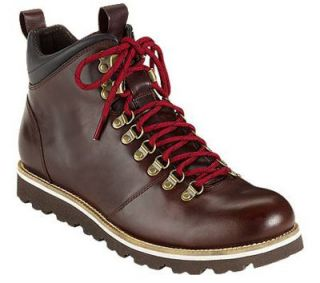 NEW Cole Haan AIR HUNTER ALPINE Redwood Leather HIKING Boots Mens 10 5