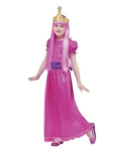 Adventure Time Princess Bubblegum Costume Girls Size Large 12 14 New