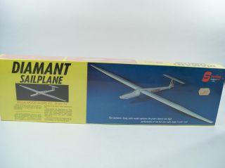 Sterling Diamant Sailplane Balsa Flying Model Airplane Kit E3