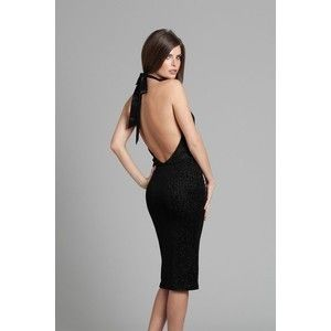 New Marciano Guess Aerin Glitter Cocktail Dress Sexy Open Back Top XS