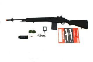 CYMA Airsoft Gun M14 Full Length Auto AEG Rifle Black