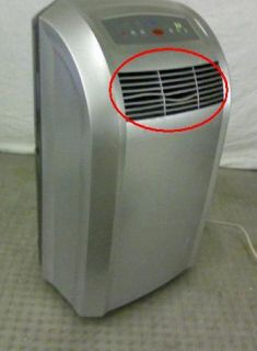 12S Eco Friendly 12 000 BTU Portable Air Conditioner Platinum