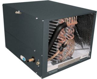 Horizontal Flow Air Conditioner Heat Pump Cased Evaporator Coil