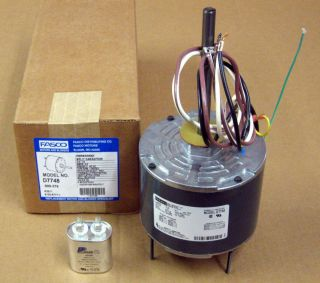 D7748 5 Fasco 1 3 HP Air Conditioner Condenser Fan Motor 1075 RPM 230