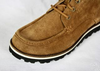 Cole Haan Air Hunter Chukka Burnt Sugar Suede Mens Boots Shoes New