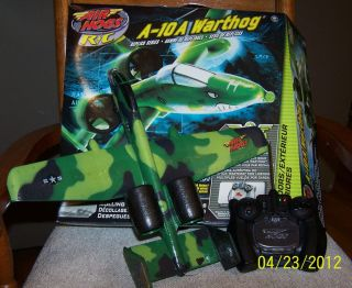 10 Warthog Air Hogs RC Plane A 10A Replica Series Fighter Jet