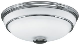 Hunter 81021 Chrome Victorian Bathroom Exhaust Fan w/ Light