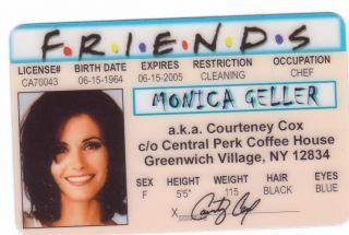 Pick A Monica Geller Phoebe Buffay or Rachel Green Collectors Item The
