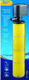 in 1 Fish Tank Aquarium Submerse Air Water Pump Bio Filter